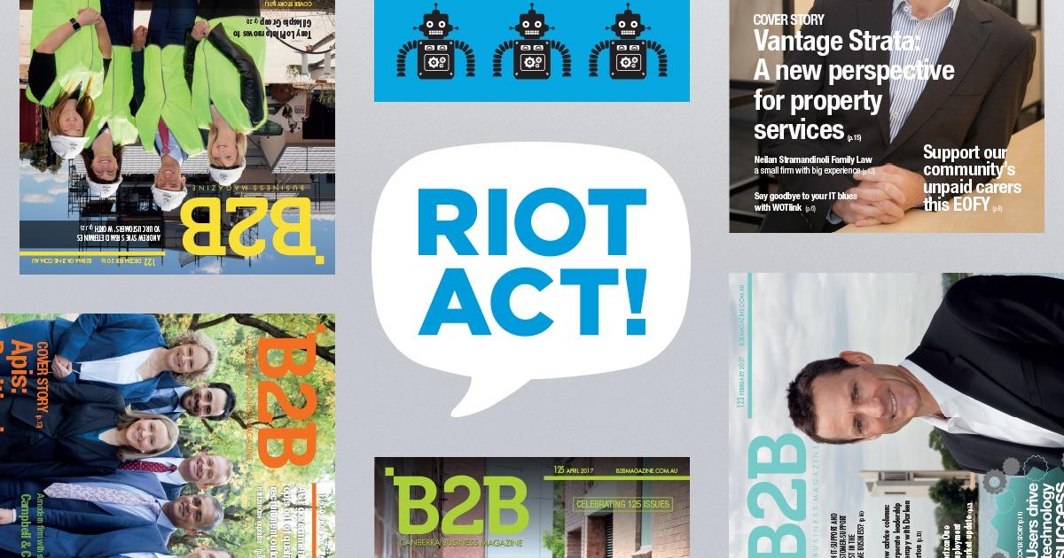 B2B Magazine | Canberra's Premier Business Magazine