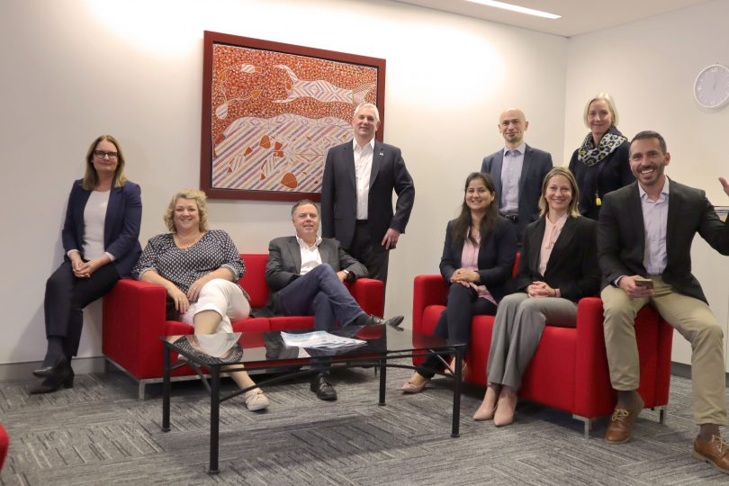 The Canberra Business Chamber team